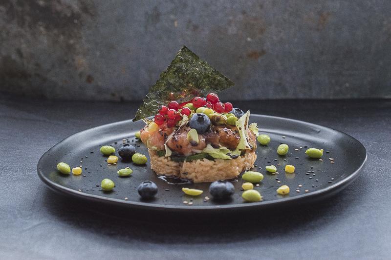 Riža sa ribom / Poke bowl recipe