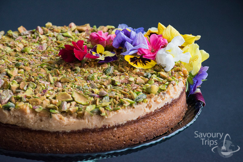 Torta sa pistaćima / Easy creme caramel cake