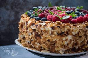 Recipe Fruits Mille feuille Cheesecake / Voćni cheesecake
