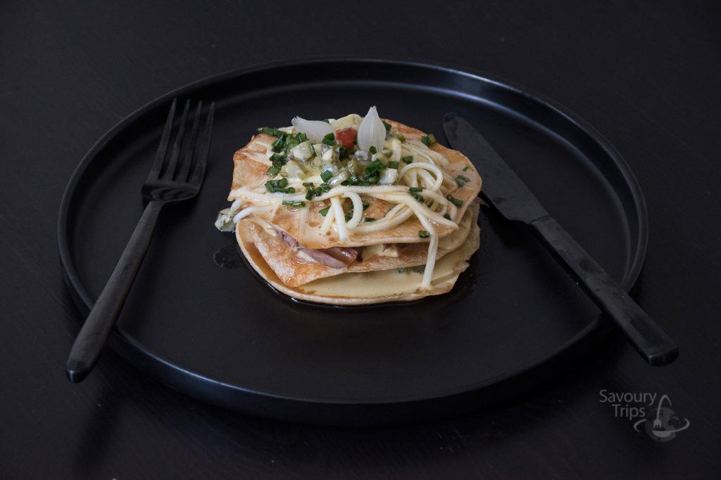 Palačinke sa fermentisanom vodom _ Pancakes with fermented juice