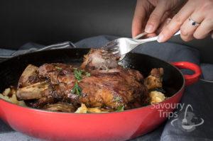 Sočna jagnjetina iz rerne i francuski pire krompir