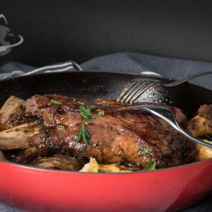 Jagnjetina iz rerne na pire krompiru
