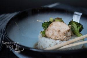 Poširana piletina sa pirinčem na kineski način