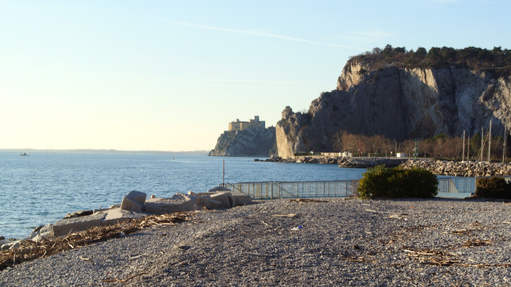 Sistiana in the North Adriatic coast