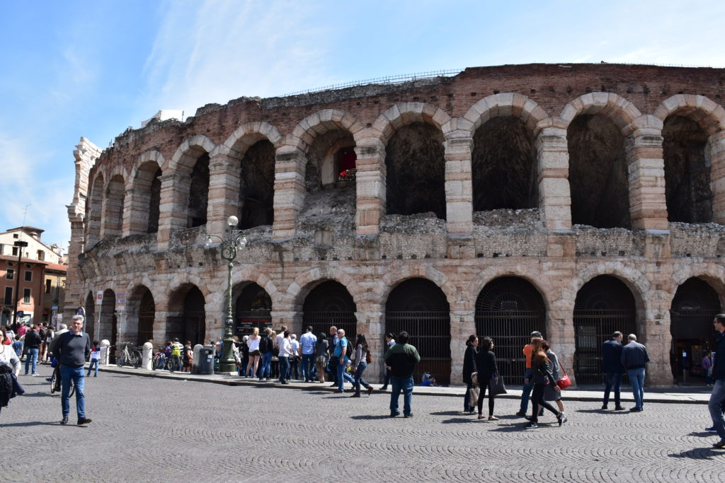 A trip to Verona, the city of love stories