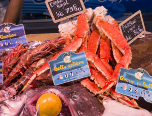 Seafood-on-the-market-Ferney-Voltaire