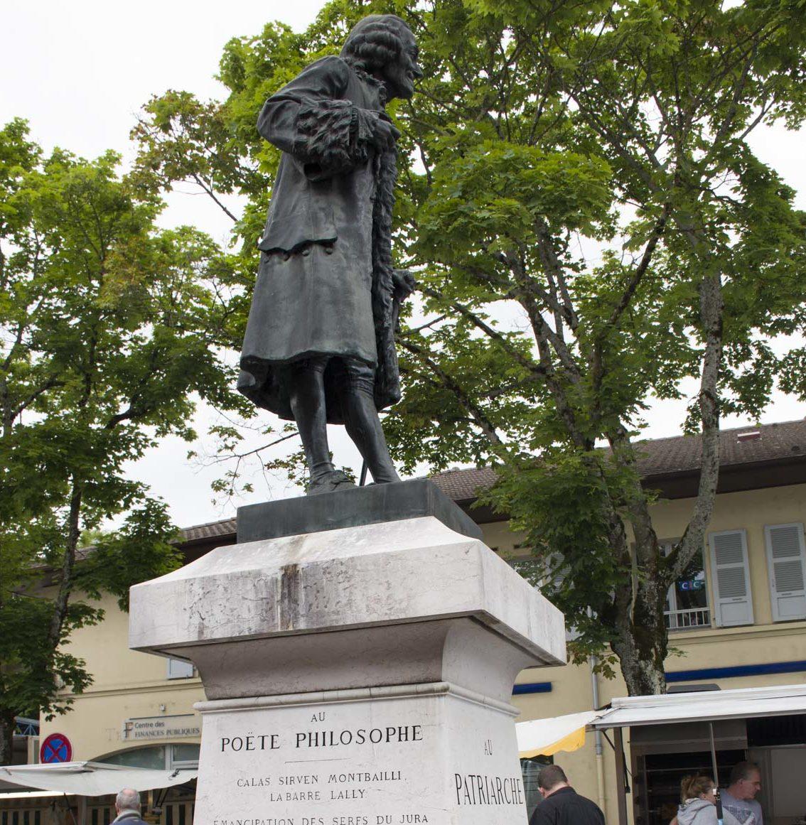 poet and philosopher Voltaire