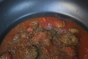 Meatballs in tomato sauce- Crock Pot
