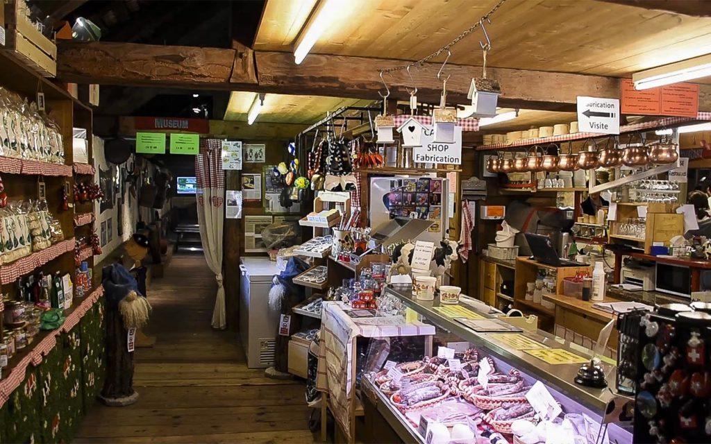 Prodavnica sira u okviru manufakture