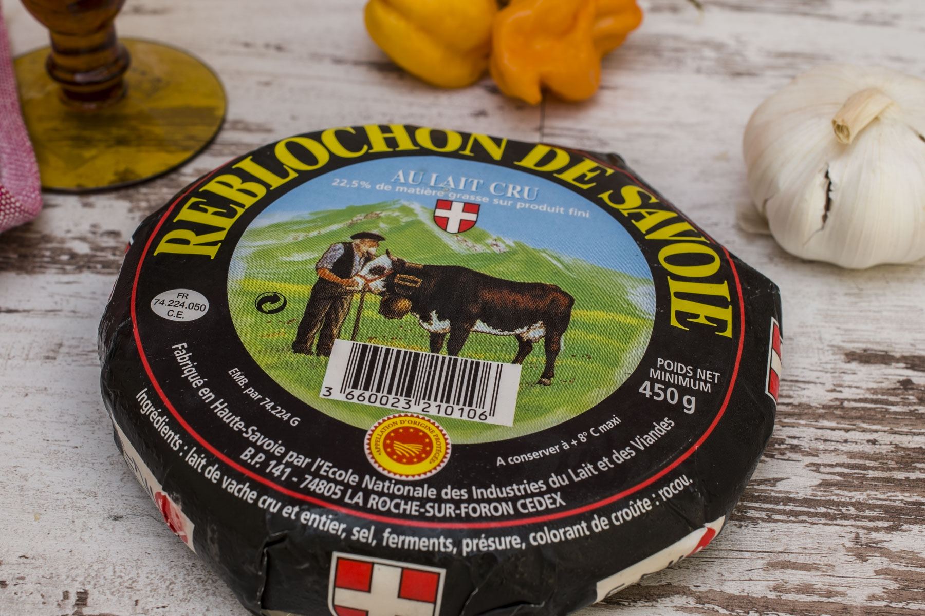 French cheese Reblochon