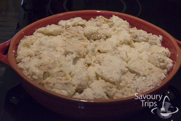 Tartiflette- baked potato