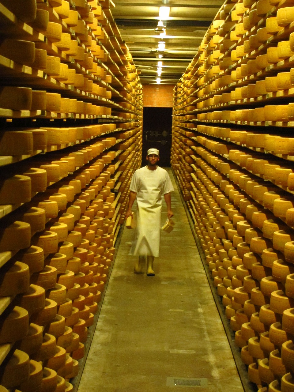 Cheese factory- picture from internet