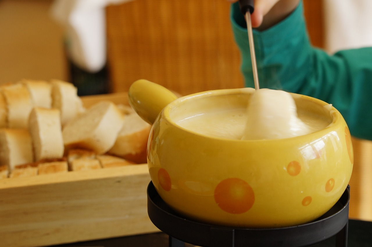 Gruyere fondue picture from internet