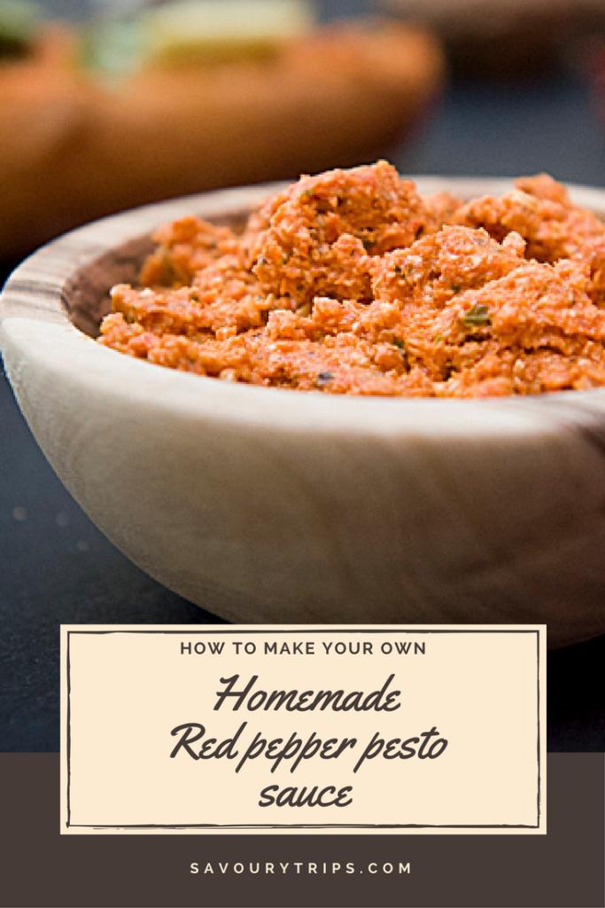 Home made pesto sauce