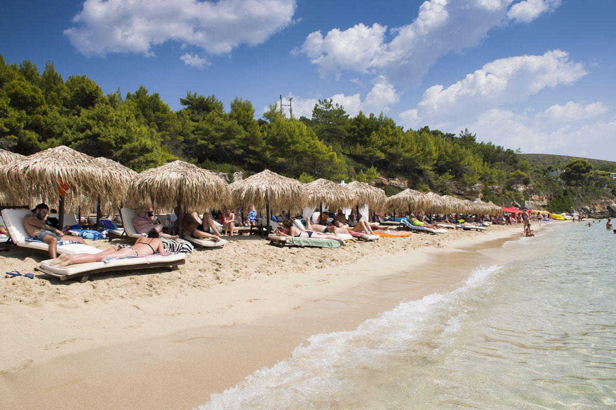 Guide to Kefalonia, Lassi beach