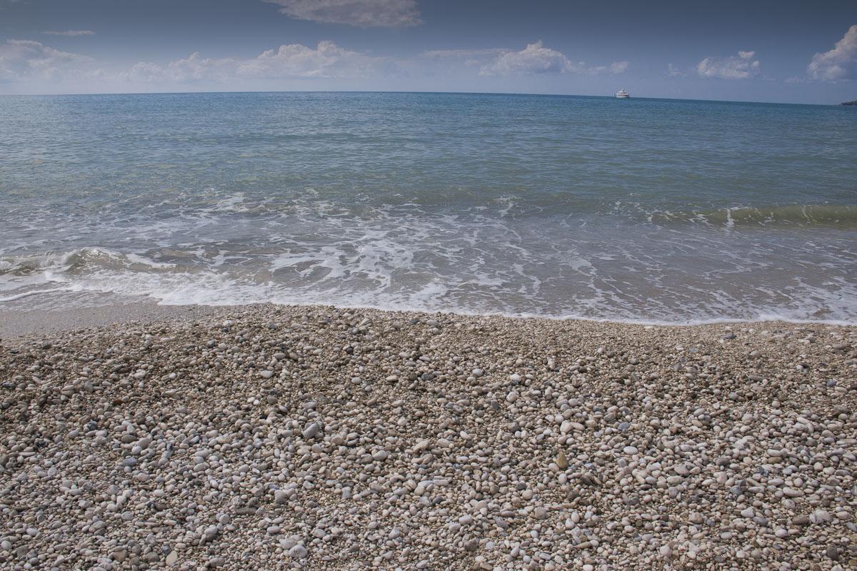 Kefalonija plaže, plaža Lourdas