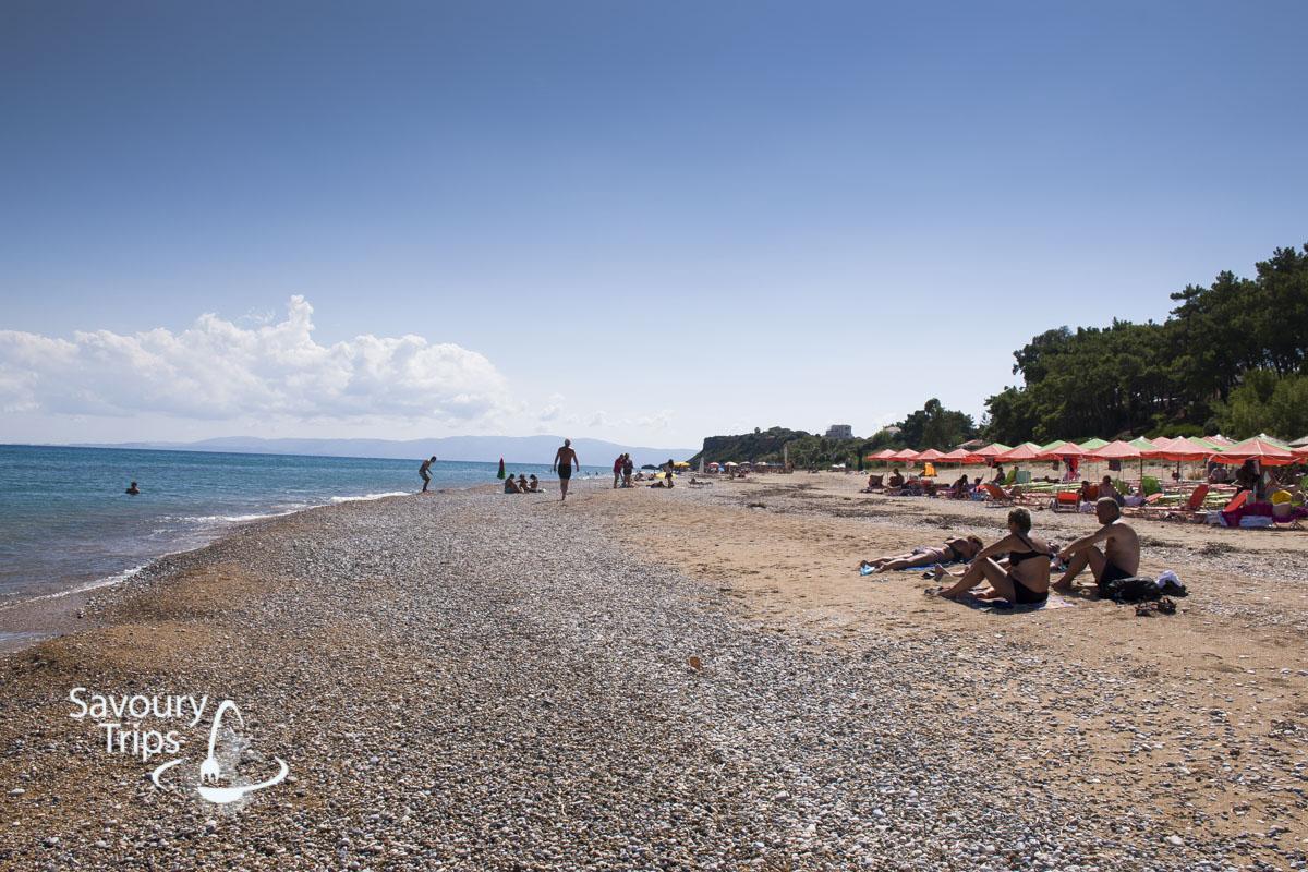Kefalonija plaža, plaža Skala