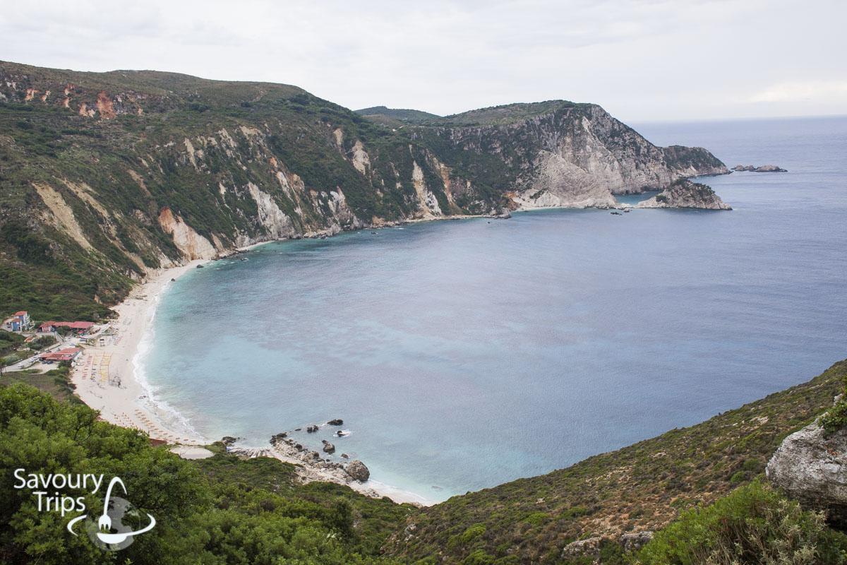 Kefalonija plaže, poluostrvo Paliki, Petani