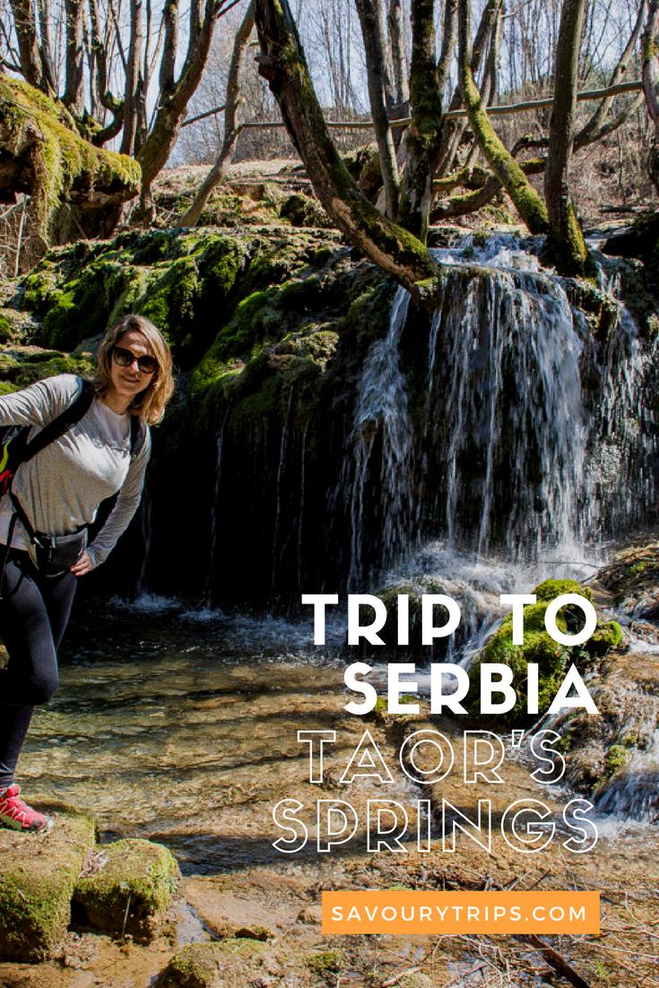 Trip to Serbia, Taor's springs