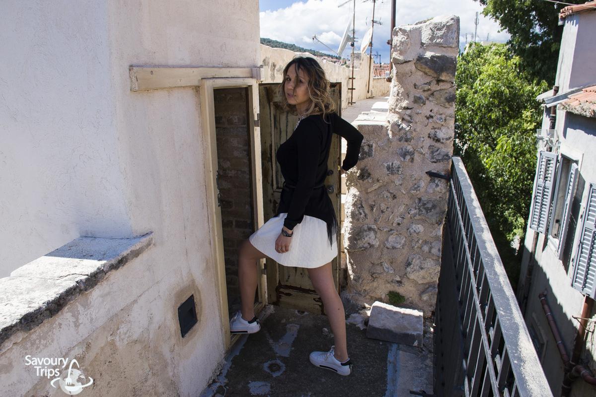 Vrata do zidina Dioklecijanove palate
