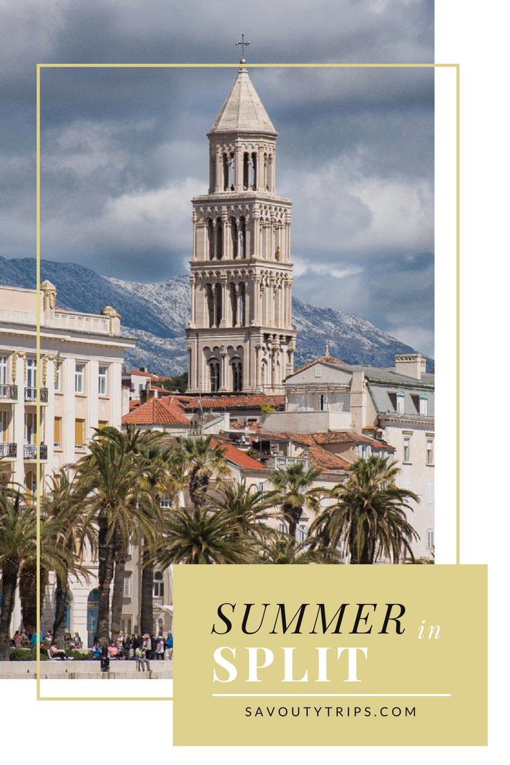 Summer vacation in Split, Trip to Split