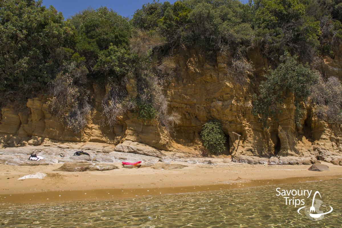 Pelion Grčka plaže Ftelia