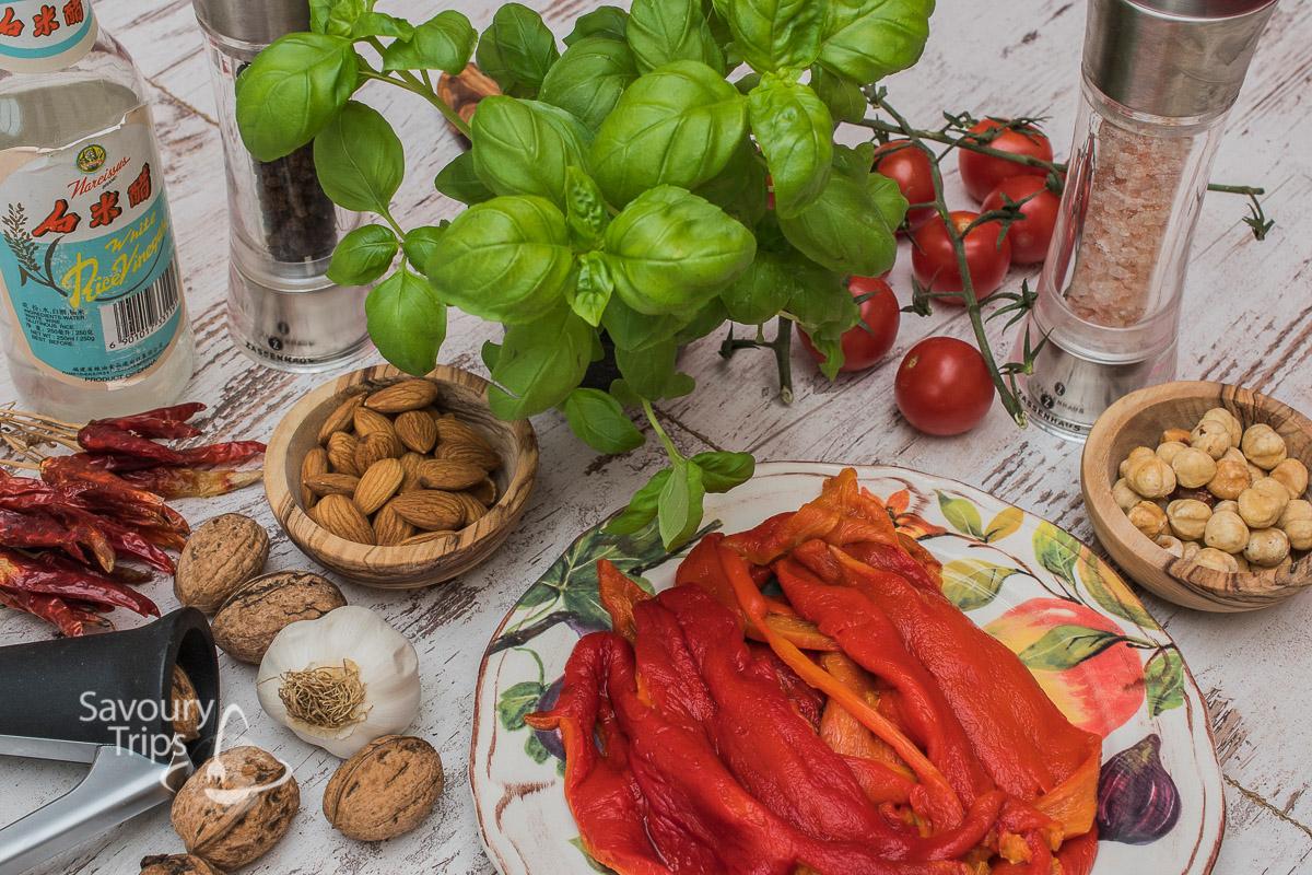 Spanish romesco sauce recipe
