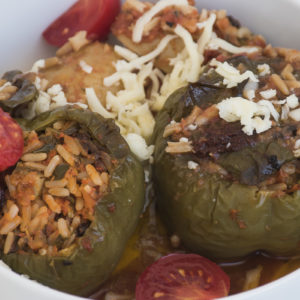 Recipe stuffed tomato stuffed pepper
