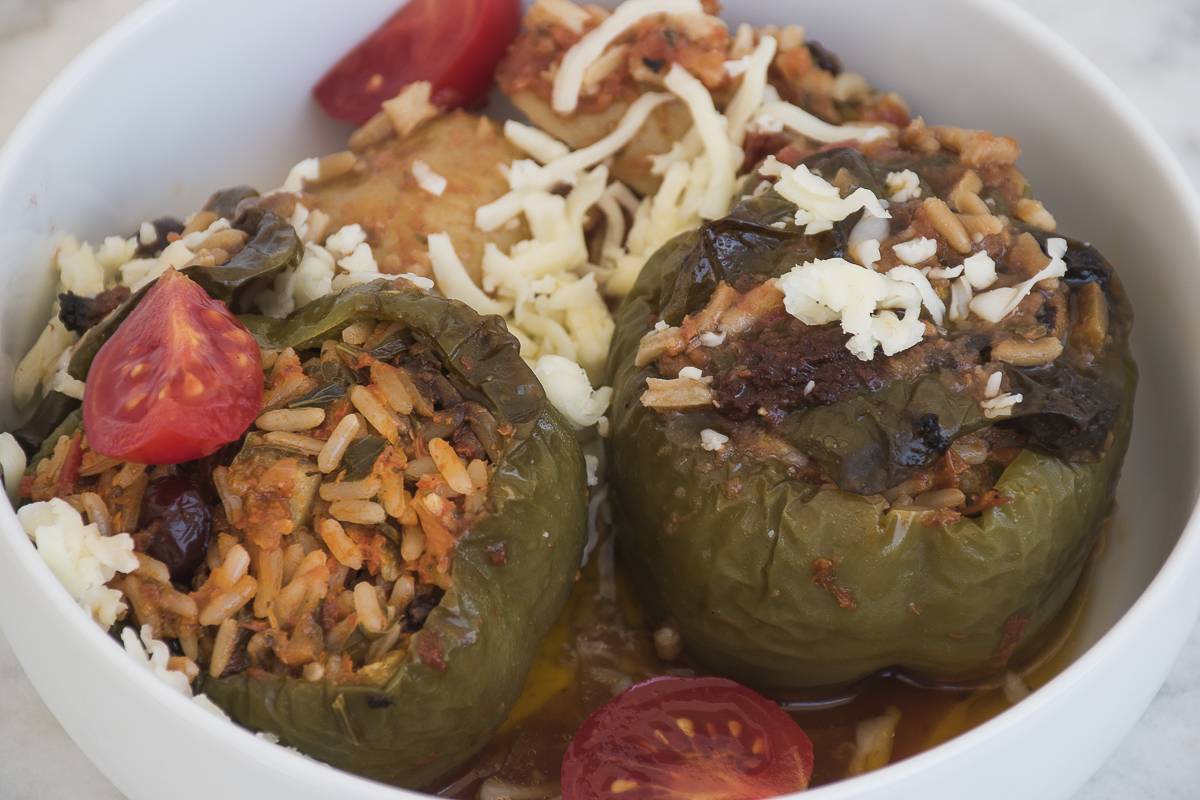 Recipe stuffed tomato stuffed pepper
