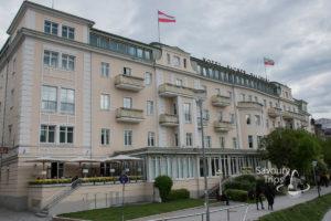 Salzburg Austria Sacher Hotel
