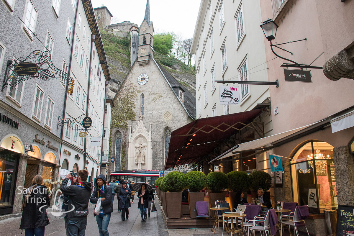 Salzburg Austria Stari grad/Old Town