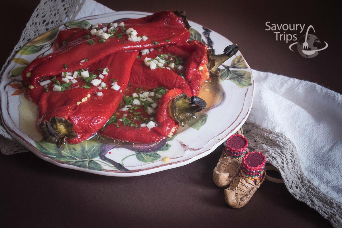 Jela od pečenih paprika / Roasted pepper recipes