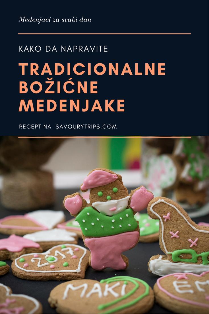 Recept za tradicionalne Božićne medenjake sa ukrašavanjem