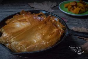 Recept za pitu od bundeve i gorgonzola sira / Recipe for Roasted Punpkin Pie with Gorgonzola Cheese