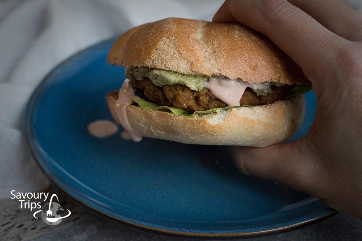 Pumpkin (Veggie) Burgers /Hamburgeri od bundeve