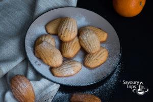 Frech Sponge shell like cakes Madeleine Recipe   Madlene recept