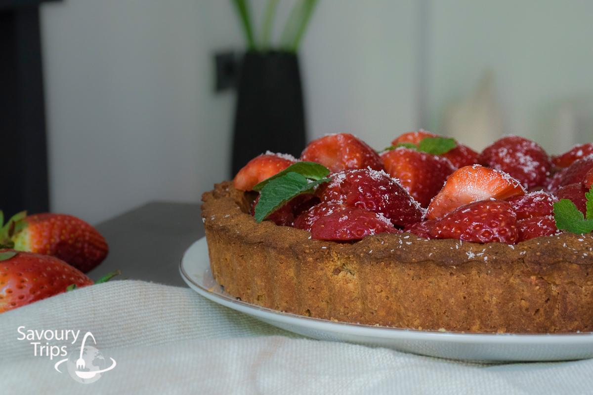 Recept za Tart od jagoda i čokolade