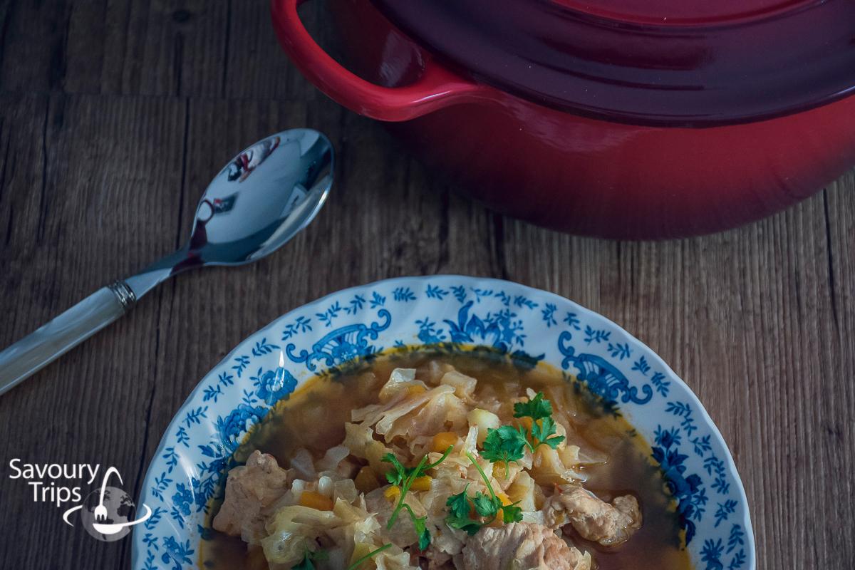 Recept za kuvani kupus sa mesom