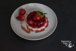 Najbolji recept za panakota u želeu od jagoda / The best recipe for Pannacotta with strawberry jelly