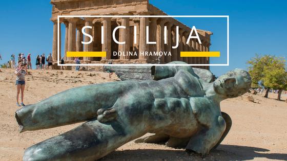 Sicilija putovanje na jug Dolina hramova Agriđento i Piazza Armerina moja iskustva