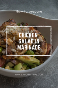 how to prepare CHICKEN SALAD RECIPE in marinade