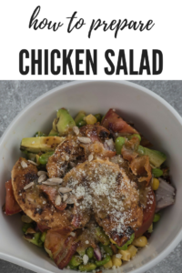how to prepare CHICKEN SALAD RECIPE in marinade