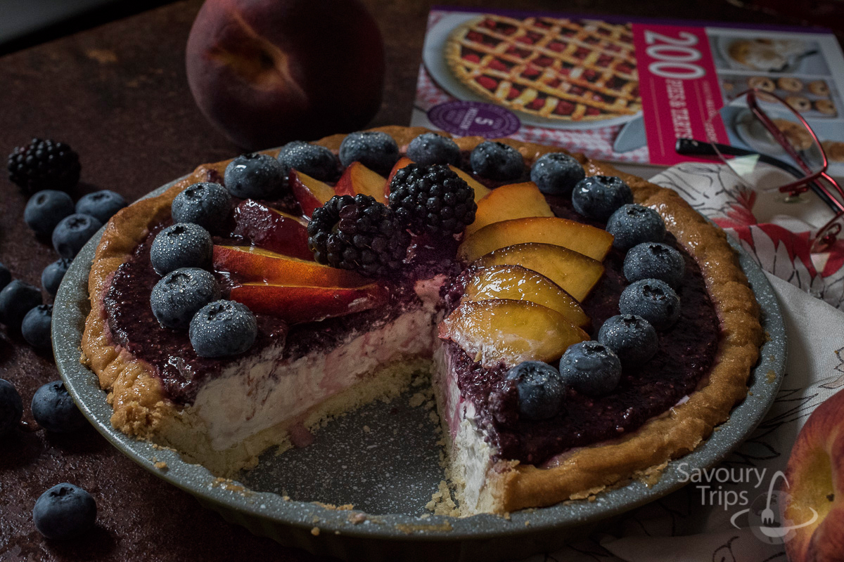Cheesecake recept sa borovnicama / Easy cheesecake recipe with blueberry
