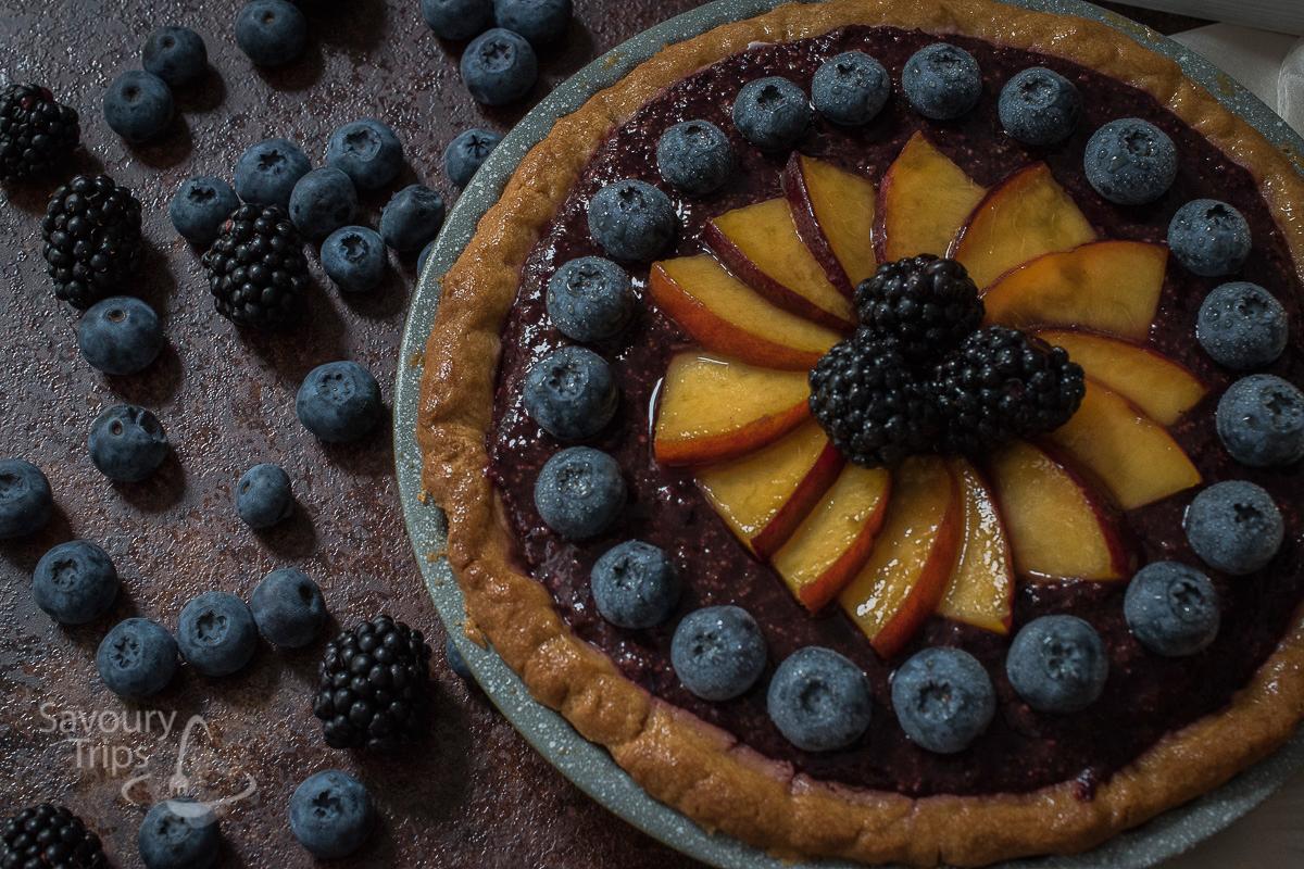 Cheesecake recept sa borovnicama / Easy cheesecake recipe with blueberry