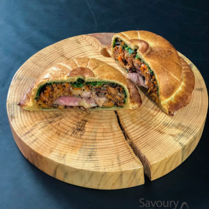 French meat pie / Francuska pita sa mesom / quail Pithiviers recipe