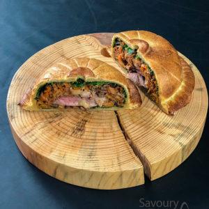 French meat pie / Francuska pita sa mesom / quail Pithiviers recipe