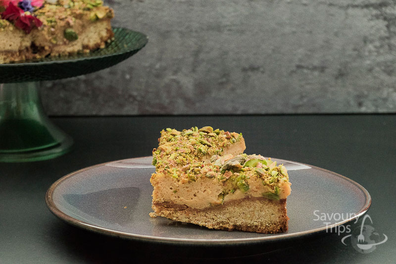 Torta sa karamelom i pistaćima / Easy cake