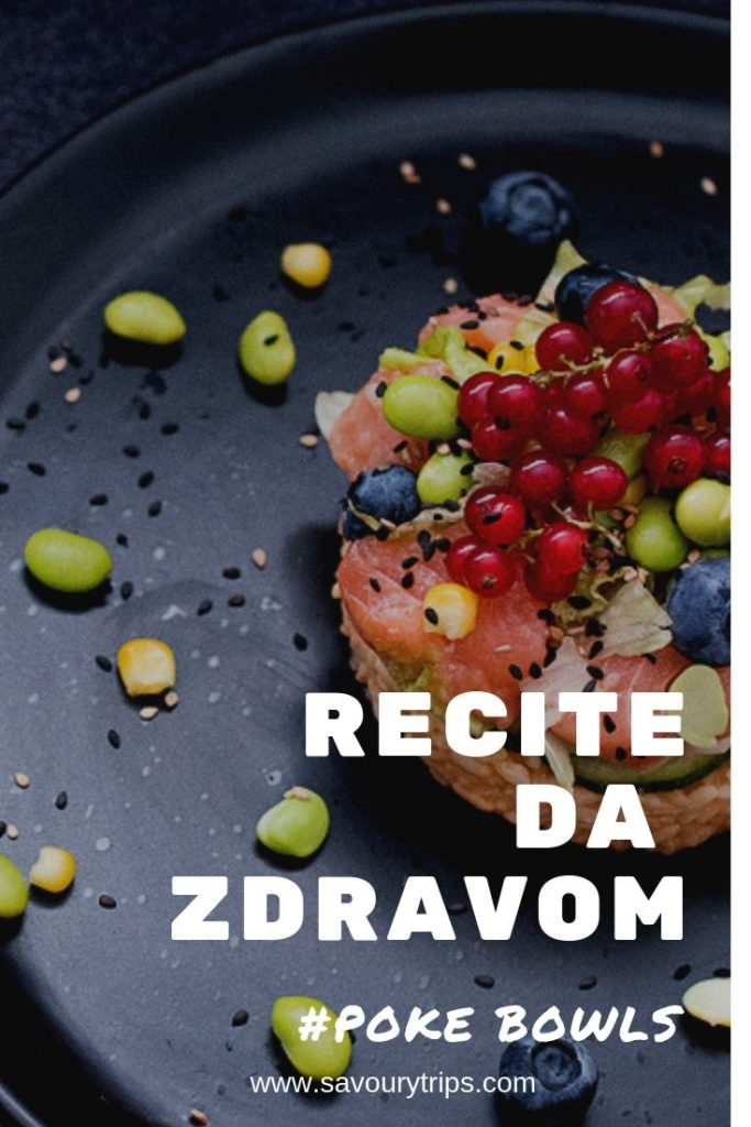 Jela sa pirinčem, healthy eating, poke