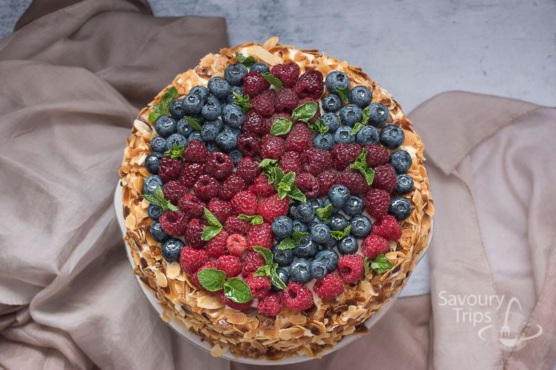 Cheesecake u hiljadu listica / Cheesecake millefoglie