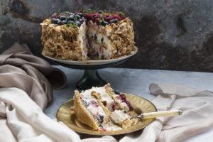 Voćni Cheesecake u hiljadu listica / Fruits cheesecake